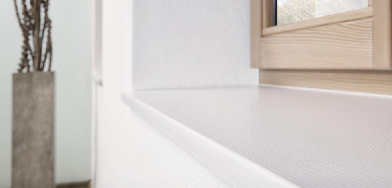 fensterb nke in gussmarmor oder aluminium f r innen und aussen von polythal fensterb nke gmbh. Black Bedroom Furniture Sets. Home Design Ideas